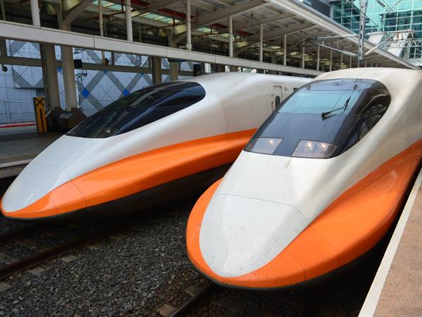 台湾新幹線工事